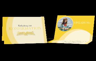Einladungskarte - Bibel