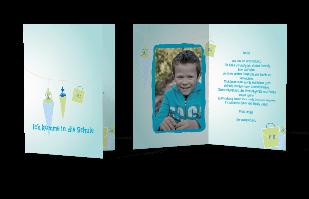 Einladungskarte - Zuckertüte