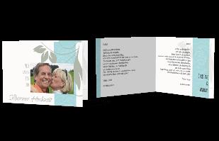 Einladungskarte - Silberne Hochzeit