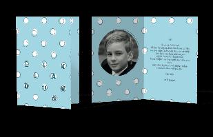 Einladungskarte - kleine Kreise