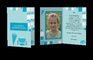Einladungskarte Einschulung