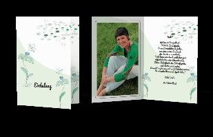 Einladungskarte - Blühende Ideen